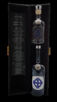 MEW Whisky Jubiläumsedition in der Lederöhre